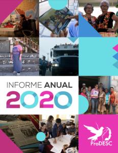 Informe Anual ProDESC 2020